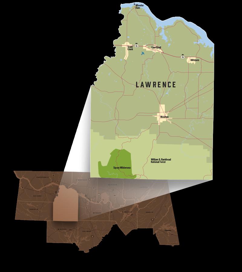 Lawrence County, Alabama